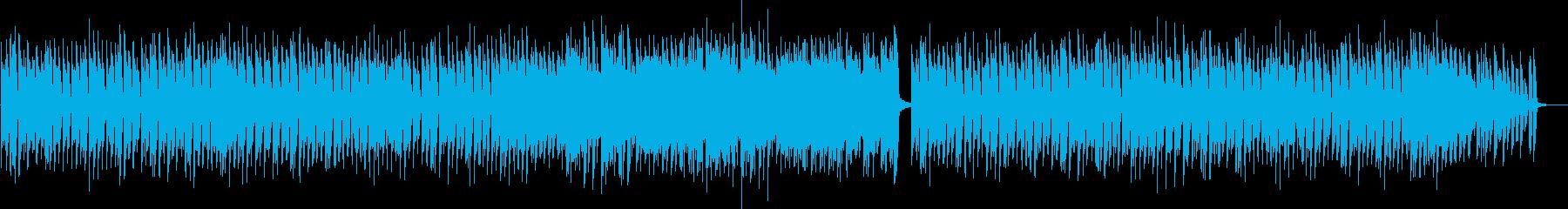 サーカスが始まるようなワクワク感ある曲の再生済みの波形