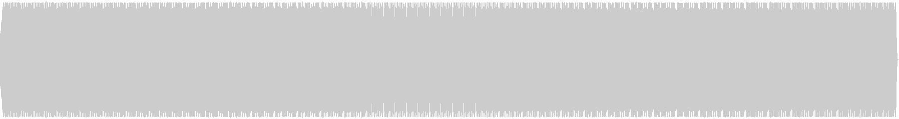 モーター音や乗り物が走行するイメージで…の未再生の波形