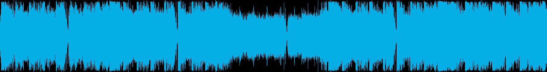ループ・イベント・洋楽フューチャーベースの再生済みの波形