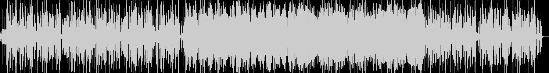 メリハリの効いた軽快ビッグバンドファンクの未再生の波形