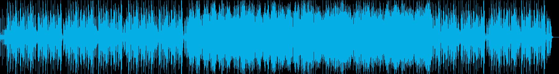 メリハリの効いた軽快ビッグバンドファンクの再生済みの波形