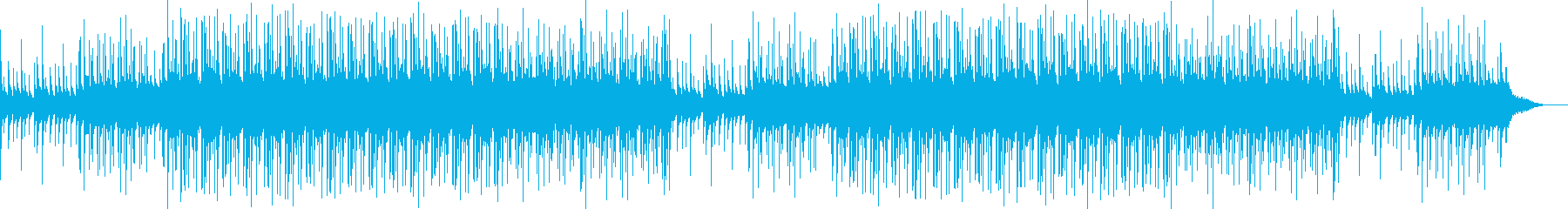 ゆったりなリラックス系エレクトロサウンドの再生済みの波形