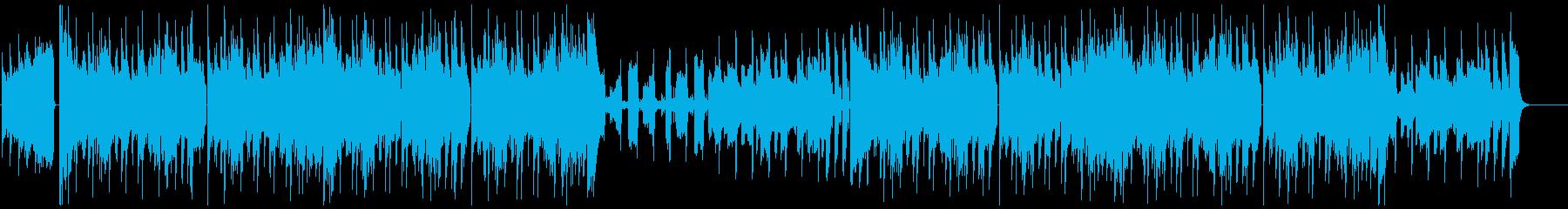軽快/クール/ヒップホップの再生済みの波形