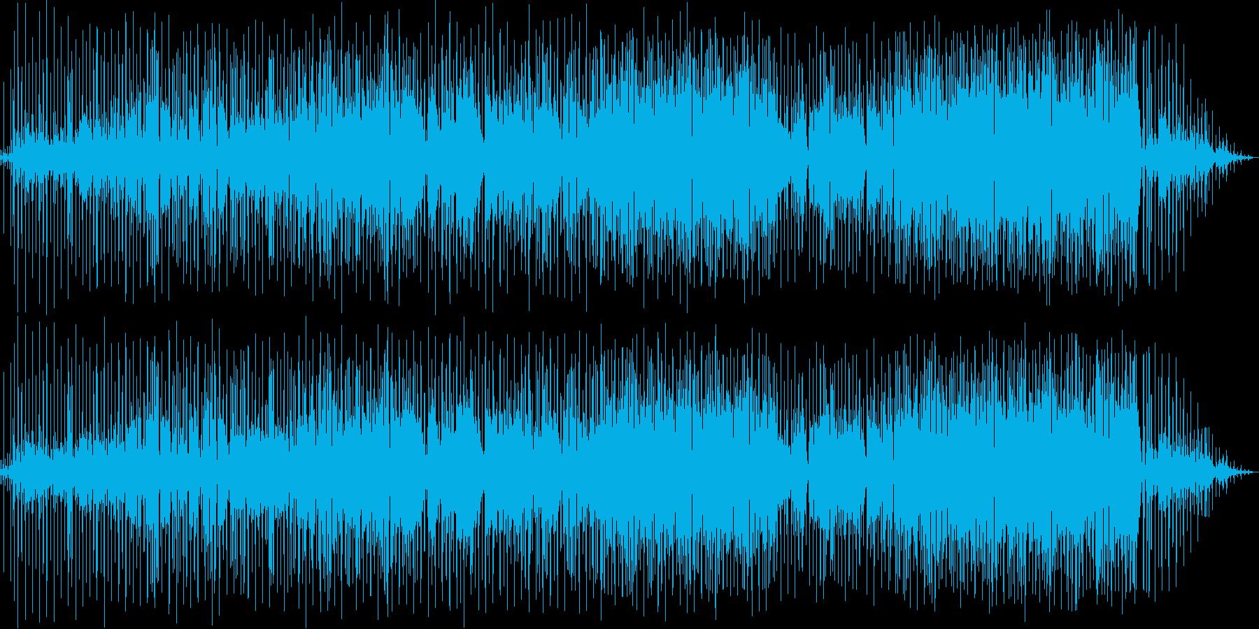 夏・海にピッタリ!ポップな日常系BGMの再生済みの波形