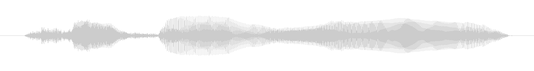 ちがうようの未再生の波形