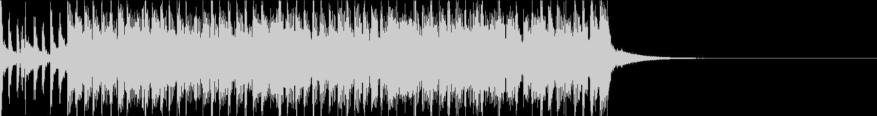 ジングル_Rock系の未再生の波形