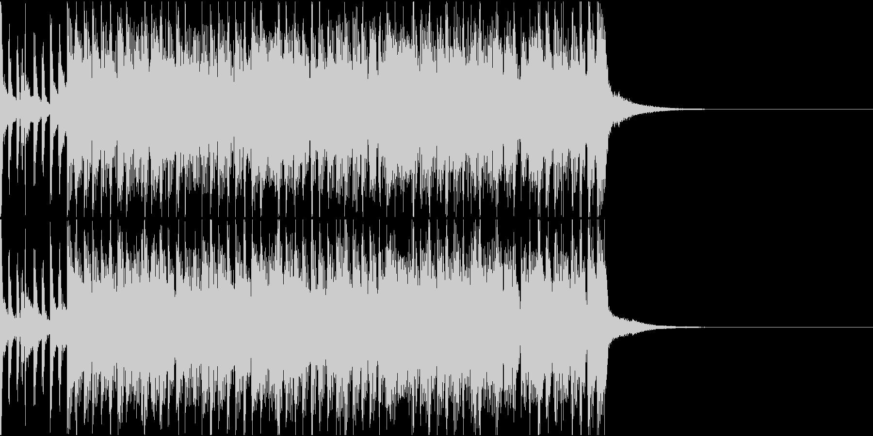 ジングル_No.003の未再生の波形