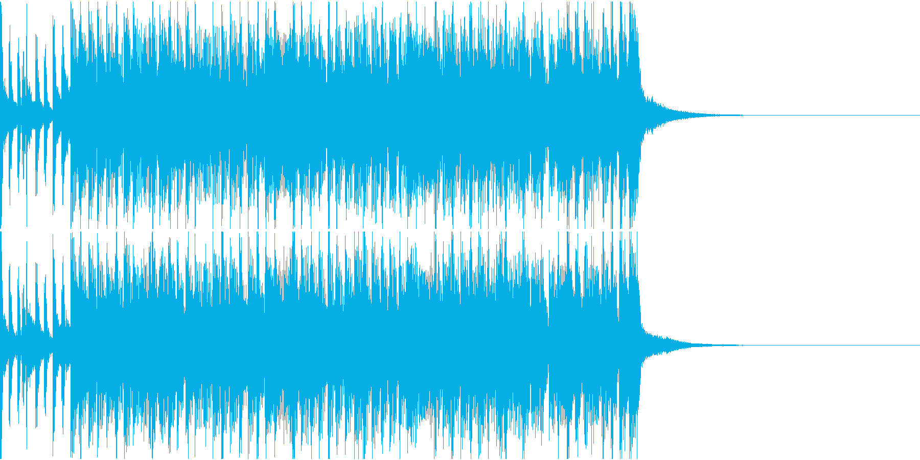 ジングル_No.003の再生済みの波形