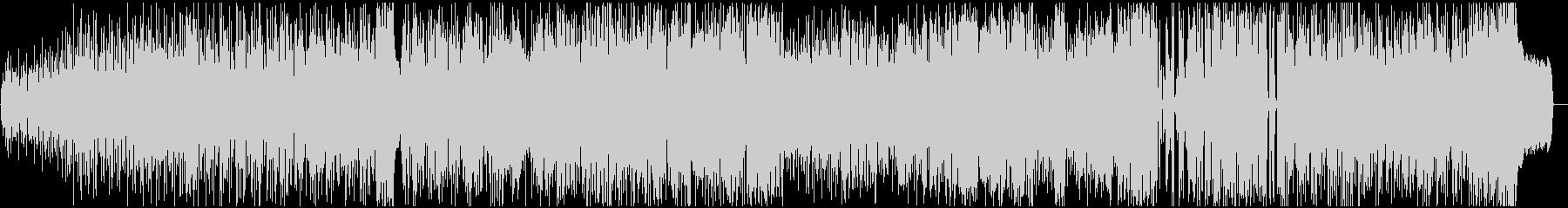 イントロドラムと1mnのオルガンと...の未再生の波形