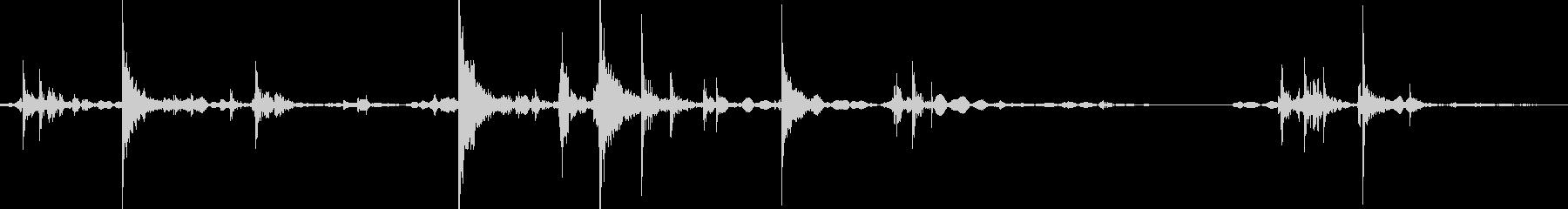 ケースやカバンを閉める効果音 01の未再生の波形
