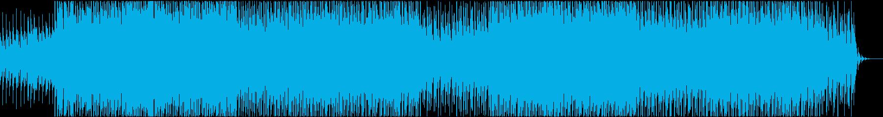 風にのっての再生済みの波形