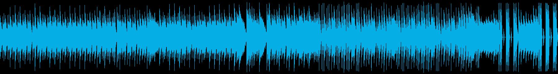レトロゲーム:定番のカッコいい系:ループの再生済みの波形