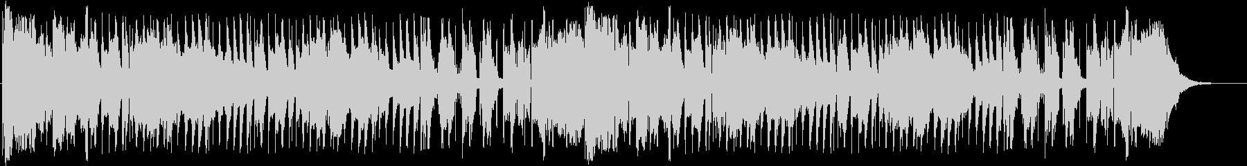 三拍子のリズムに陽気なアコーディオンの未再生の波形