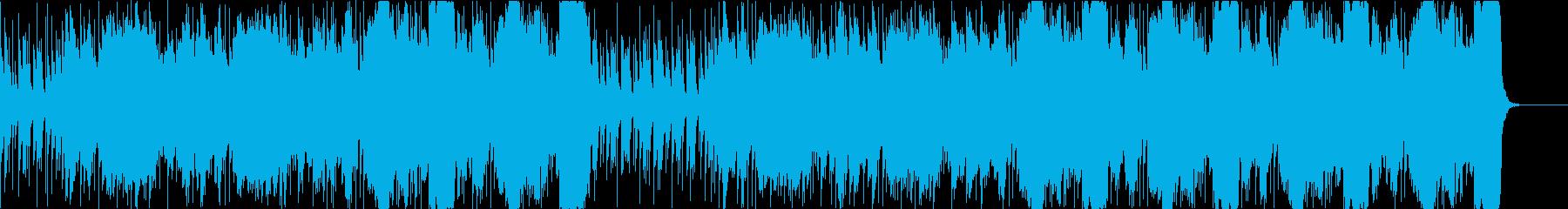チェロとコントラバス+バイオリンのBGMの再生済みの波形