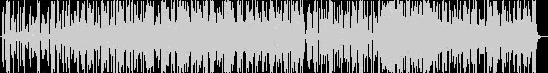 レトロでシックなファンキーサウンドの未再生の波形