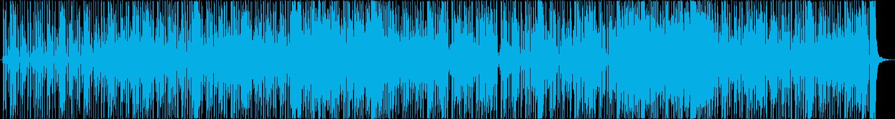 レトロでシックなファンキーサウンドの再生済みの波形