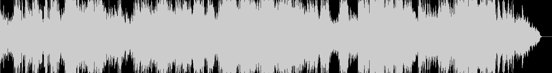 ピアノとストリングスを組み合わせて...の未再生の波形