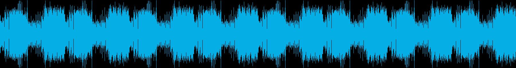 ハロウィンやホラー系の演出に最適の再生済みの波形