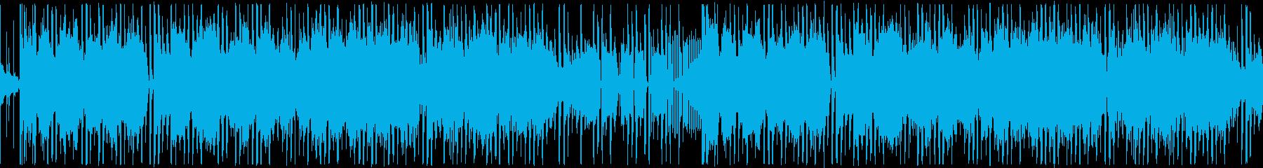 【ゆったりアンビエントJAZZ】の再生済みの波形