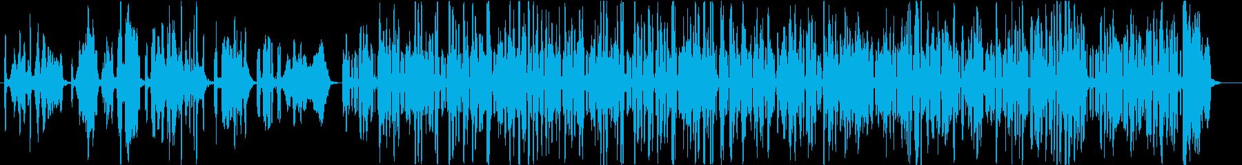 哀愁のパリ・コミカルなアコーディオンソロの再生済みの波形
