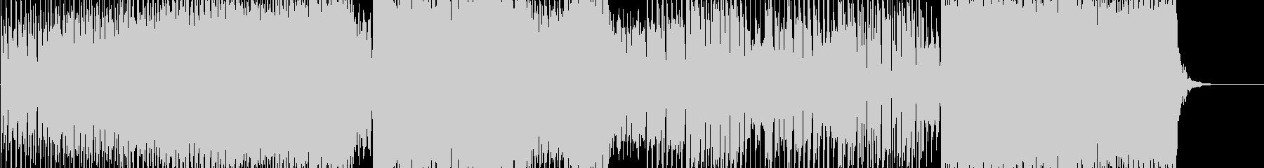 EDM風のシンセロック&ジャズピアノの未再生の波形