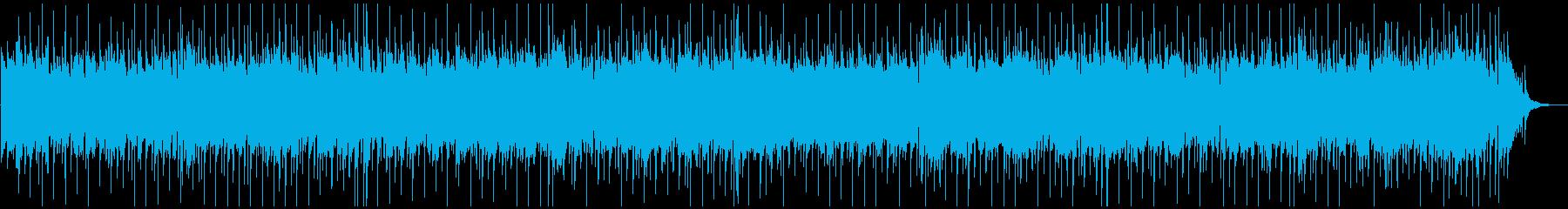 陽気なサザンロック風バンジョーBGMの再生済みの波形