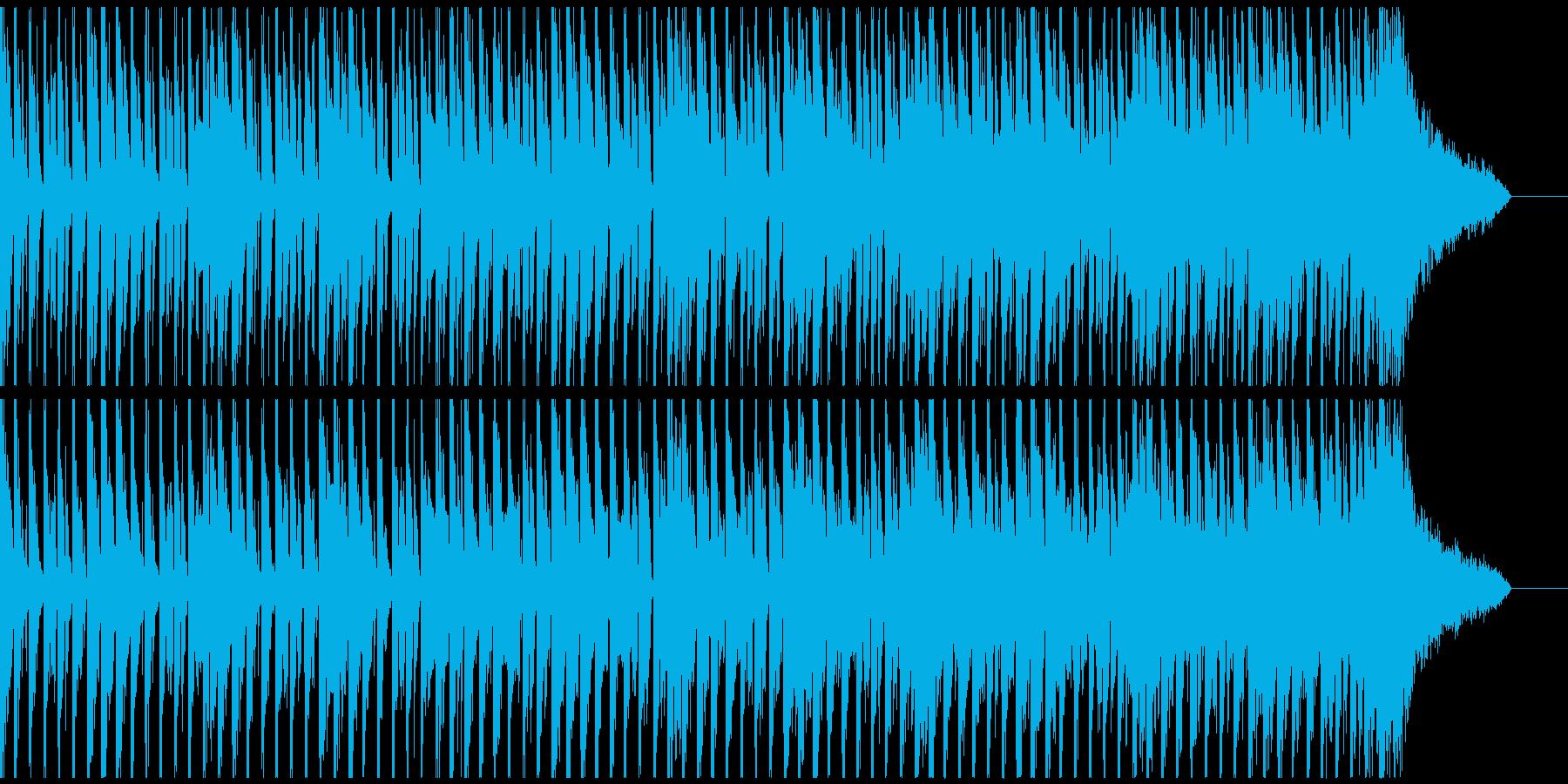4つ打ちビートに都会的クールなサウンドの再生済みの波形