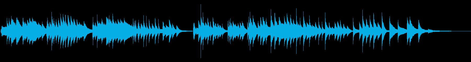 劇伴・ゲーム ラジオの優しいピアノソロの再生済みの波形