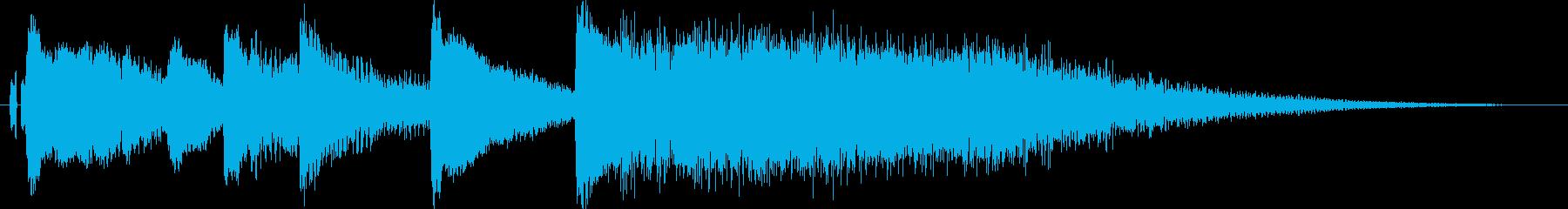 中国、チャイナ風の演出に最適なジングル1の再生済みの波形