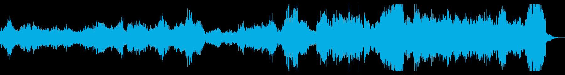 チェロとピアノの疾走感ある感動的なduoの再生済みの波形