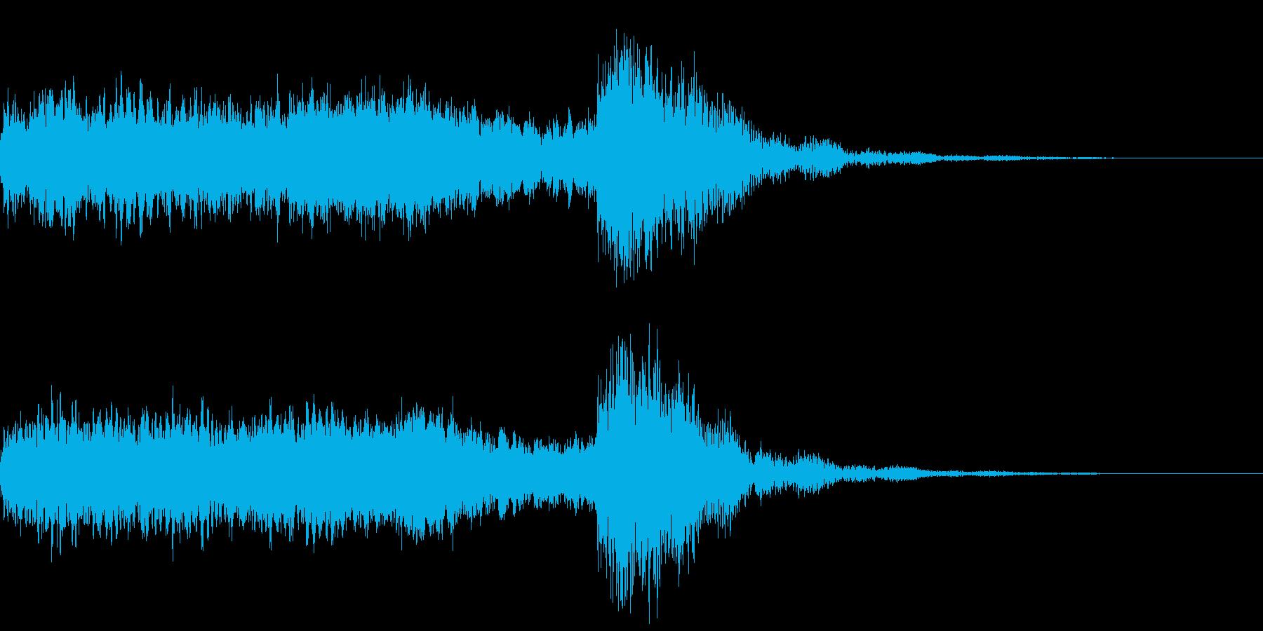 神社 結婚式の笛(笙)/和風演出に!02の再生済みの波形