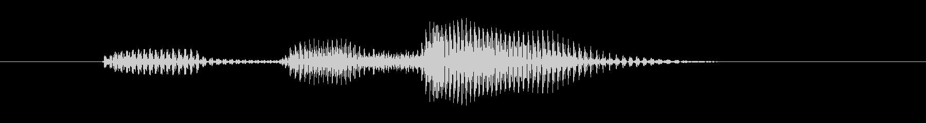 デッドゾーンの未再生の波形