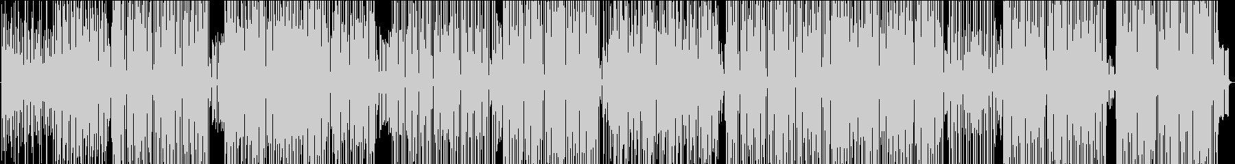 ファンキーなラテン系ストラットの未再生の波形