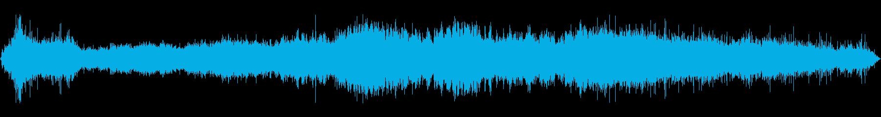 ヒューズまたはフレア:長い火傷の再生済みの波形