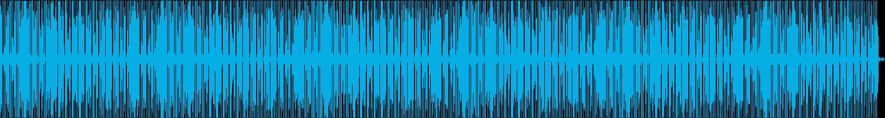 まったり、休日、LoFiヒップホップの再生済みの波形