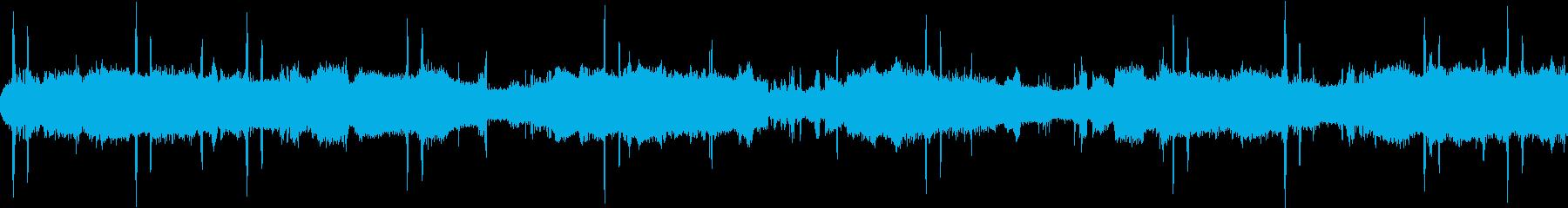 【環境音25分】深夜のジャングルと鳥と虫の再生済みの波形