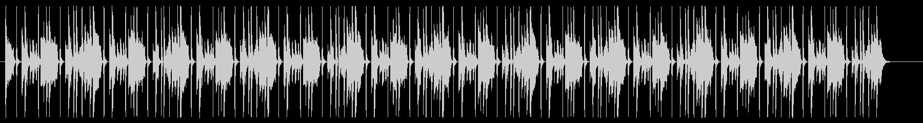 木琴と弦の愉快なBGM シンキングタイムの未再生の波形