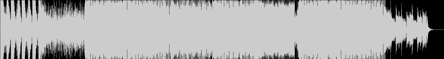 - 和風 EDM - 琴と三味線と尺八の未再生の波形