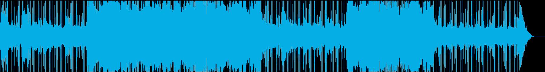 ブルース アンビエント ゆっくり ...の再生済みの波形