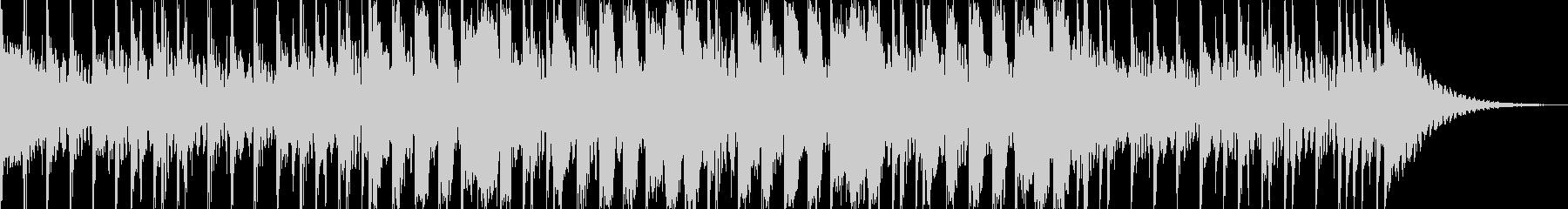 23秒 爽快なドラムと口笛の未再生の波形