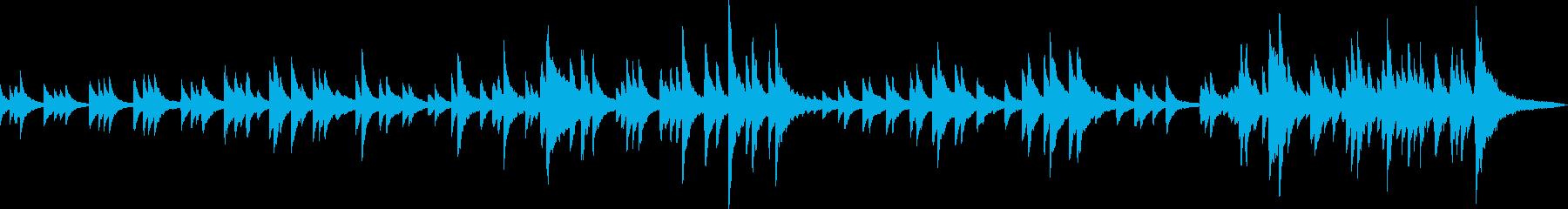 感動的なピアノバラード(優しい・別れ)の再生済みの波形
