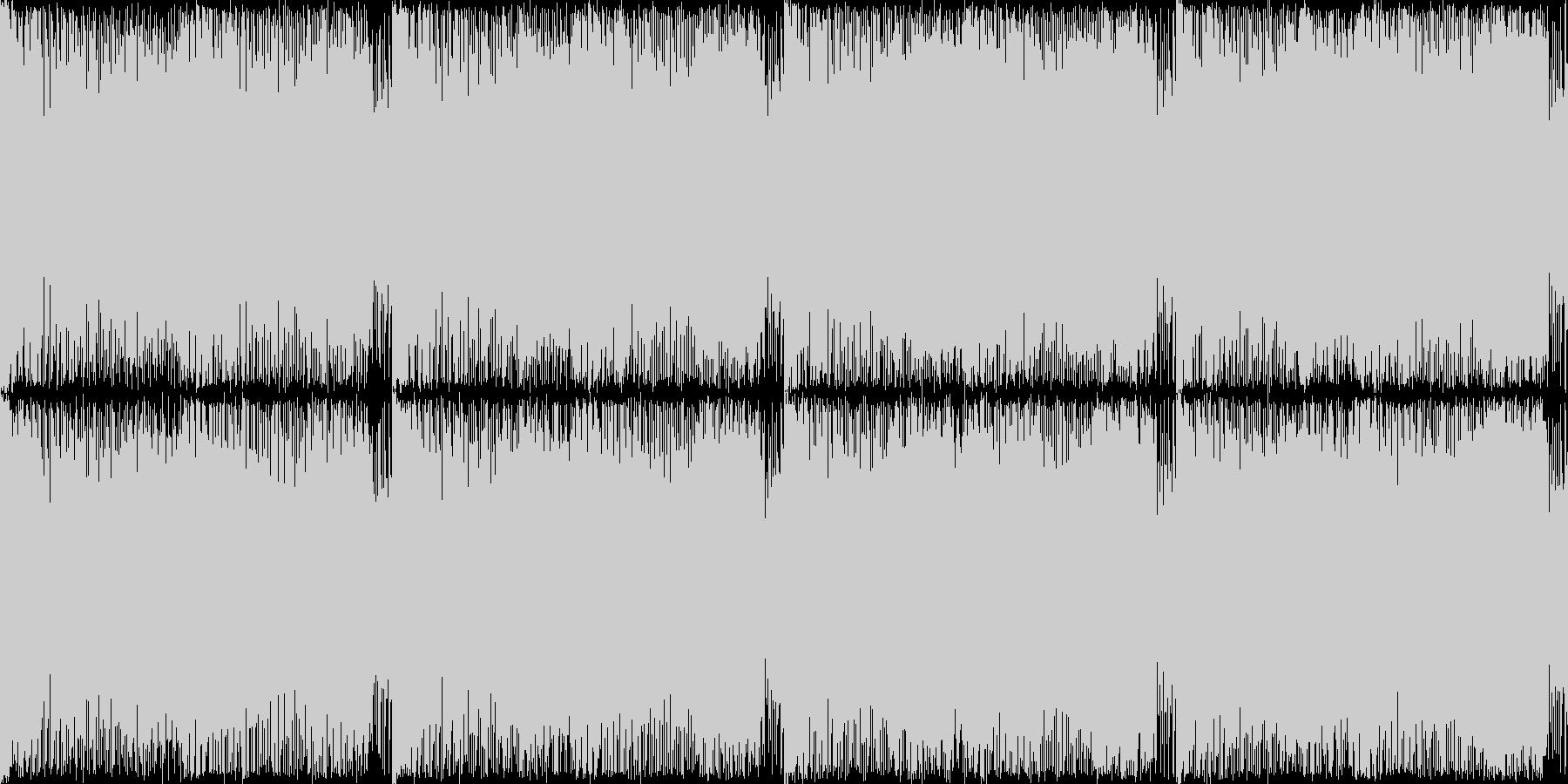 時の狭間、レベル2、癖になるループ素材の未再生の波形