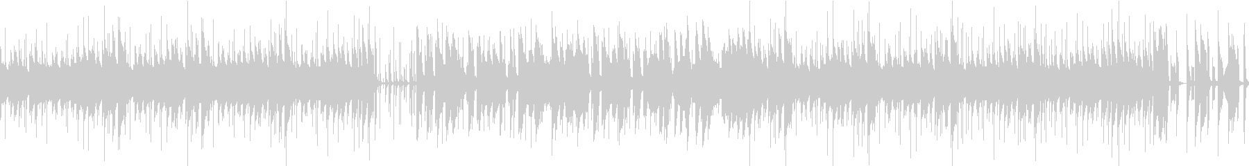 日常系 ほのぼのポップ(2分ジャスト)の未再生の波形