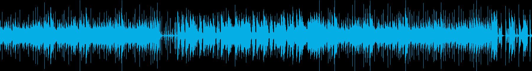 日常系 ほのぼのポップ(2分ジャスト)の再生済みの波形