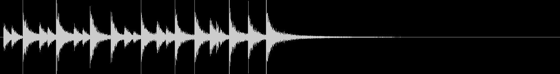 ドラム/ティンバレス フィルイン 11の未再生の波形