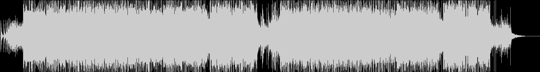 ハイスピード和楽器ロックサウンドの未再生の波形