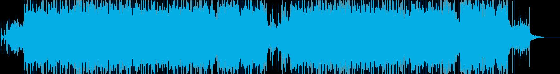 ハイスピード和楽器ロックサウンドの再生済みの波形