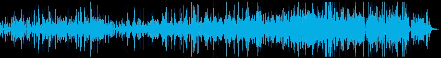 奇妙な雰囲気のシネマティックサウンドの再生済みの波形