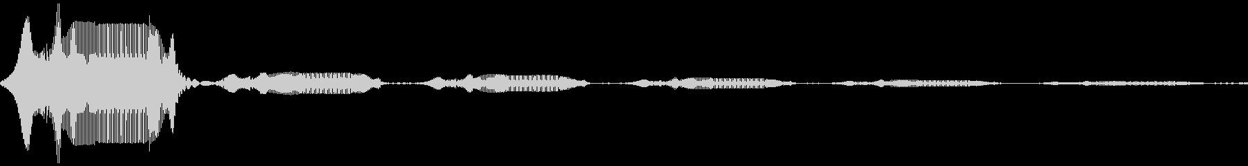 アナログFX 1の未再生の波形