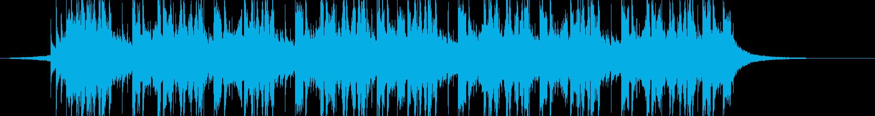 future bass、EDM1-Cの再生済みの波形